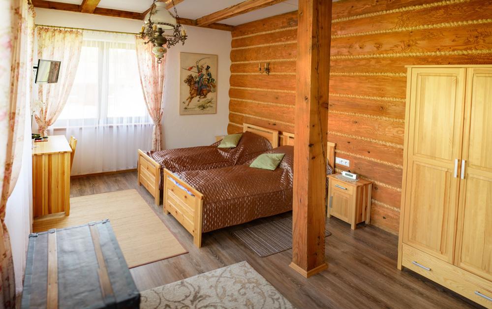 EkoSioło - noclegi Bistuszowa - pokój 1